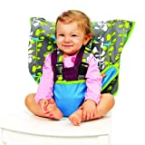 My Little Seat The Travel Highchair (Blue Fish, 6 - 36 Months)