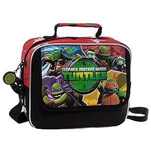 Tortugas Ninja Neceser Bandolera, Color Verde, 4.14 litros