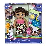 Hasbro Baby Alive- Martina Spaghettina (Bruna), C0964103