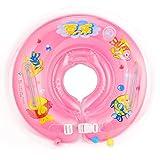 Omos Kinder Baby Säugling Aufblasbare Runde Schwimmen Ring in Verschiedenen (Pink)