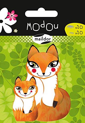 Haftnotizen Modor/Maildor Motiv Füchse 2x20 Blatt