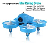 Frsky Mini Racing Drone Apus MQ60, FPV Drone Racing Integrated with FrSky XM Receiver, Drone FPV Racer by Brushed 615 Coreless Motors, Micro Race Drone Driving 31mm 4 Blade Propellers, for the Indoor Drone Racing Enthusiast by LITEBEE