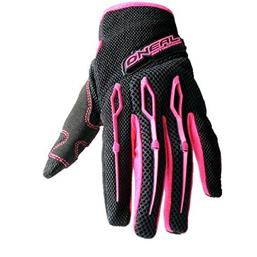 O'Neal Element Handschuhe Girls Pink Ltd Edition Motocross Enduro Downhill MTB, 0397G-7, Größe XX-Large (Loop-seitenteile)