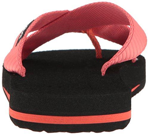Teva Damen Mush Kalea W's Flip Flops Pink (Livy Deep Sea Coral)
