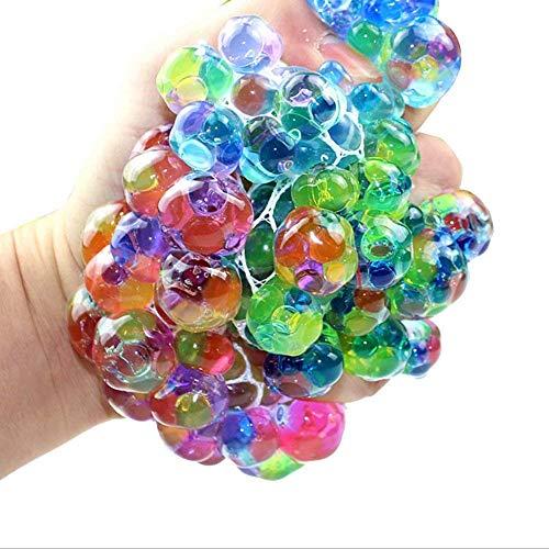 Tick Tocking DNA Squeeze Squishy Ball & Pull & Stretch Bounce Ball für Stress und Angstlinderung, ADHD, Autismus, EDC Spielzeug für Kinder & Erwachsene, 1, 1