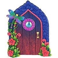 Puerta de Libélula en Miniatura para Jardín Encantado de Hadas y Gnomos en Miniatura. Accesorios para Jardín de Hadas y Gnomos