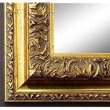 Wandspiegel Rot Braun Gold Barockspiegel Bad Flur Spiegel Antik Barock-Rahmen