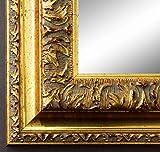Online Galerie Bingold Spiegel Wandspiegel Badspiegel - Rom Gold 6,5 - Handgefertigt - 200 Größen zur Auswahl - Antik, Barock - 70 x 100 cm AM