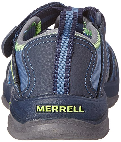 Merrell Hydro Hiker, Sandales mixte enfant Navy/Green