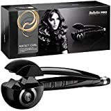 Plus Arogya Perfect Curl Hair Styler Ceramic Simply Straight Hair Curler (Black)
