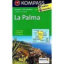 La Palma carte de randonnée 1:50.000 KOMPASS N ° 232