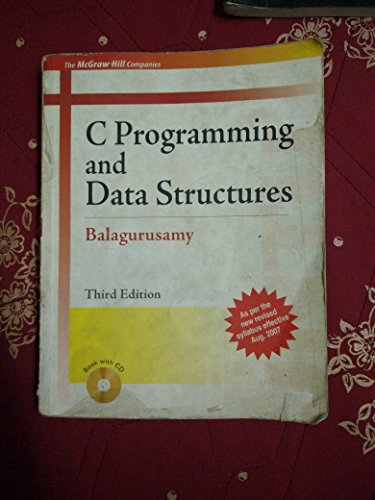 C Programming And Data Structures Balaguruswamy