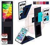 reboon Hülle für Ulefone BE X Tasche Cover Case Bumper | Blau | Testsieger