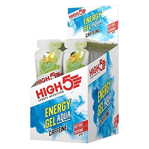 High5 High5 Gel Energético Con Agua Y Cafeína Para Aporte De Energía Rápido Y Para Llevar A Base De Zumo De Fruta Natural - Cítrico - 20 Bolsitas Energéticas De 66 Gramos 1480 g