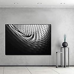 Gebäude Struktur grau Stil Poster und leinwand ölgemälde Wohnzimmer Dekoration wandkunst Bild rahmenlose 30x45 cm