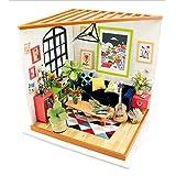 TYZY Chambre Puzzles architecturaux Maison de la Sagesse Bricolage cabane tridimensionnelle modèle de Salon Manuel pour Enfants Ados et Adultes