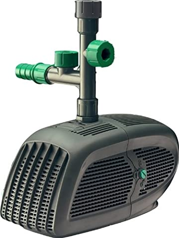 Blagdon Midi Pond Pump to Run Fountains, Filters and Waterfalls (Pond Pump for Ponds up to 5628 L) - 5500