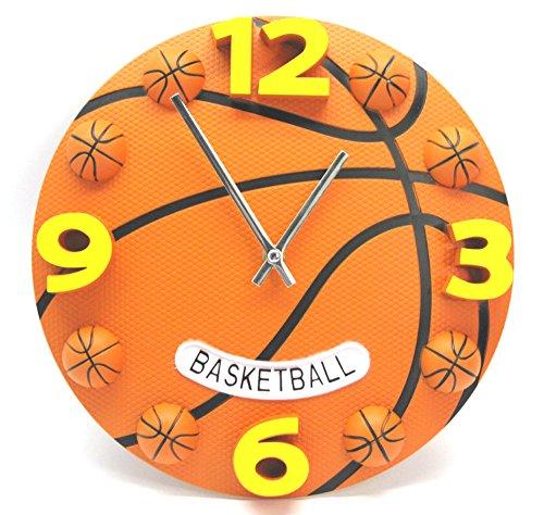Wanduhr Kinderwanduhr Kinderuhr Uhr Wanddeko Fan Kinder Kinderzimmer Basketball