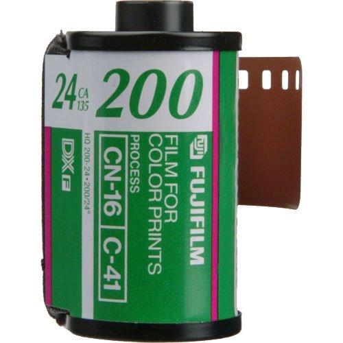 Fujifilm FUJICOLOR 200Color Negativ-Film (35mm Fotofilm-Roll-Film, 24Aufnahmen)