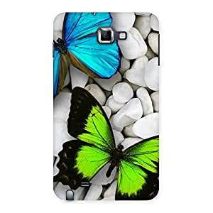 Delighted Premier Butterflies Multicolor Back Case Cover for Galaxy Note