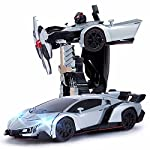 Blossom Deform Robot Sports Car Toy with Convertible Robot with Lights, Music & Bump & Go Function for Kids. Introduce your children to the world of robotics with the Year's No 1 intelligent machine series robot. Robots are closely associated...