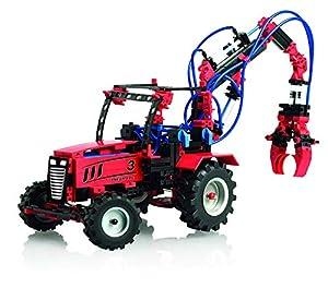Fischertechnik Pneumatic 3 - Aprende Física con este Divertido Juego de Construcción con 8 Modelos Diferentes como el Tractor