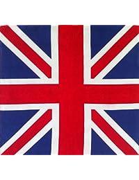 Bansana British Flag Cotton Britain Head neck Scarf 1pcs