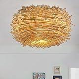 Kreative amerikanisches Land liegen Rattan Esszimmer minimalistische Persönlichkeit Decke (Energieeffizienzklasse: A +) Höhle