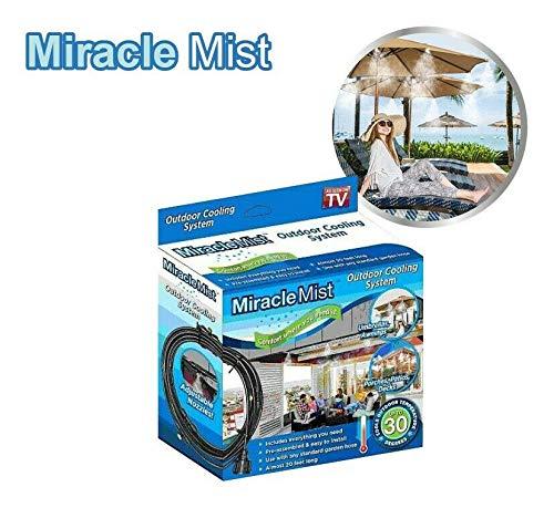 A&L Miracle Mist Vaporisateur de climatisation pour extérieur Noir
