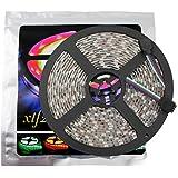 Xtf2015 Led Strip Lights LED Lighting 5Meter 16.4ft Waterproof Flexible Color Changing RGB SMD5050 300 LEDs Light Strip
