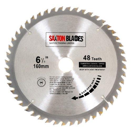 saxton-lame-de-scie-circulaire-tct-160-mm-x-20-mm-x-48-dents-pour-ts55-festool-bosch-makita-etc