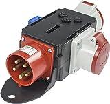 as - Schwabe Mixo Adapter 60525 Mosel, 1 CEE Gerätestecker 32 A, auf 1 CEE Steckdose 16 A, 1 CEE Steckdose 32 A und 1 Schutzkontaktsteckdose 230 V