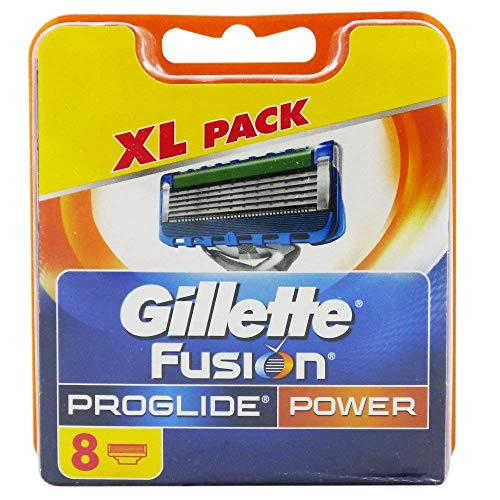 8 Gillette Fusion Fusion Proglide Power Rasierklingen Neu,OVP,Original,2x4er oder 1x8er Pack