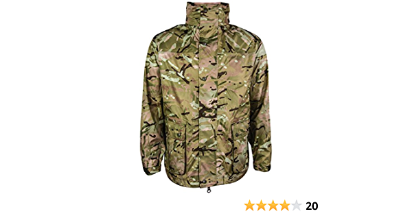 Camouflage Highlander Herren Tempest Regenjacke