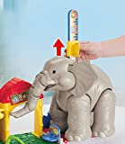 Fisher Price CHF55 - Little People Big Animal Zoo Playset - Elephant has Sounds and Music - Learning Toy