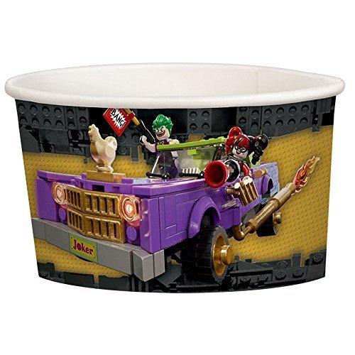 Amscan International 431709Batman Lego Papier Behandeln/Eis Becher 280ml -