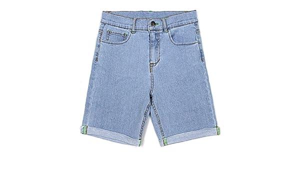 Bienzoe Ragazze Cotone Denim Pantaloncini