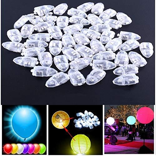 PiniceCore 10Pcs LED Luftballons Lampe Dekoration Licht für Orbs Globos Hochzeit Dekoration Geburtstags-Party-Dekorationen für Kinder Air Balloons Decor.Q