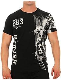 Yakuza Hombres Ropa Superior/Camiseta Waiting Death