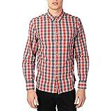 Penfield - Camisa casual - para hombre Rojo rosso Small