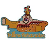 Close Up The Beatles Wanduhr Yellow Submarine, 35x24cm aus MDF Bedruckt, batteriebetrieben