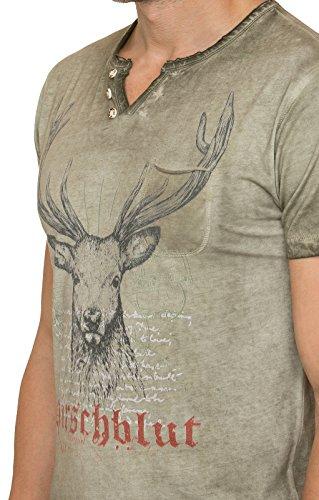 Stockerpoint Trachten T-Shirt Pascal Sand, L - 6