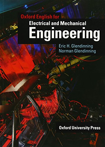 Oxford English for Electrical and Mechanical Engineering Student's Book (English for Careers)