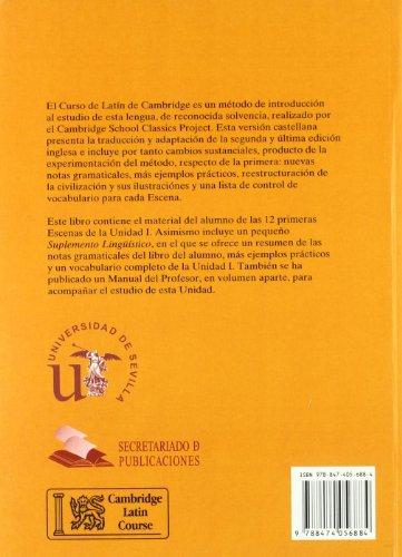 Curso de Latín de Cambridge Libro del Alumno Unidad I: Versión española (Manuales Universitarios)
