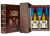 CAMINO DE CABRAS Estuche regalo - vino blanco - Albariño Rias Baixas - Producto Gourmet - Vino...