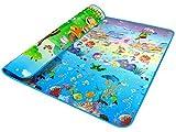 niceEshop(TM) Bebé de Arrastre Mat Ambos Lados del Bebé Juego Mat Carpet (Multicolor)
