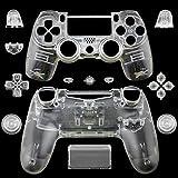 Komplettes Controller-Gehäuse / Schutzhülle mit Tasten für PS4/ Sony Playstation 4Wireless-Controller