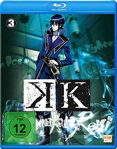 K – Episode 10-13 [Blu-ray]