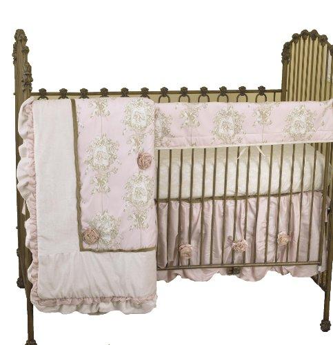Cotton Tale Designs avant Crib Rail Cover Up Set, Lollipops & roses en coton Tale Designs