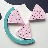 skgardeniamy Skilanglauf Wassermelone Gebäudeblöcke Spielzeug Ornament kinderzimmerdekoration